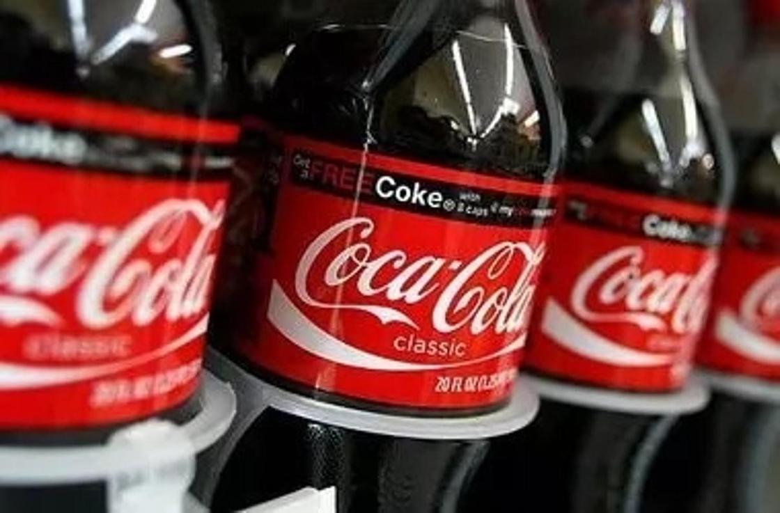 Кока-кола в бутылке