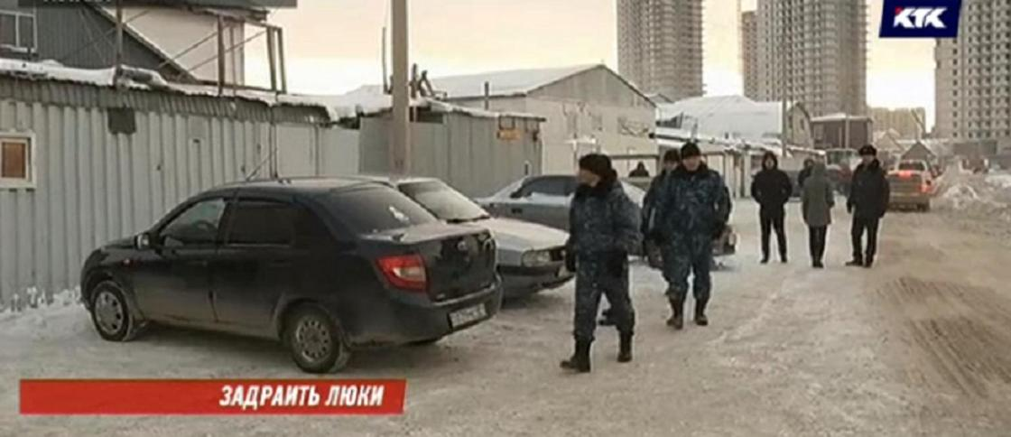 Гибель ребенка в колодце: полицейские провели рейд по пунктам приема металла в Астане