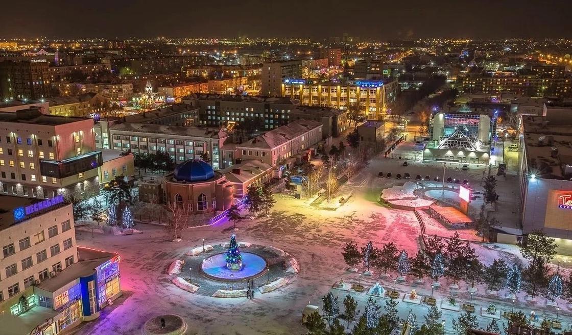 Все областные центры Казахстана