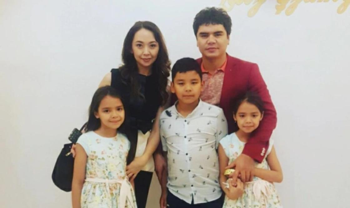 Кенжебек Жанабилов с семьей. Фото: comode.kz