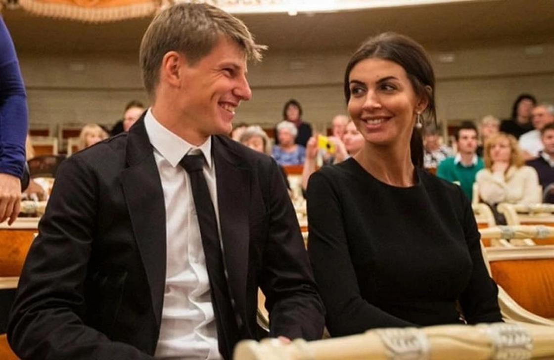 Андрей Аршавин және Алиса Кузьмина. Фото: gazeta.ru