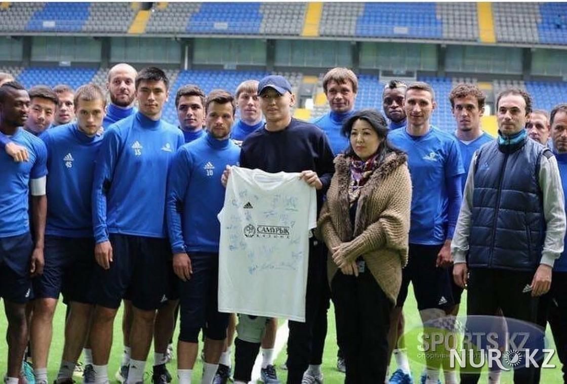 """Бақтияр Мұхамбетқалиев """"Астана"""" футбол клубымен"""