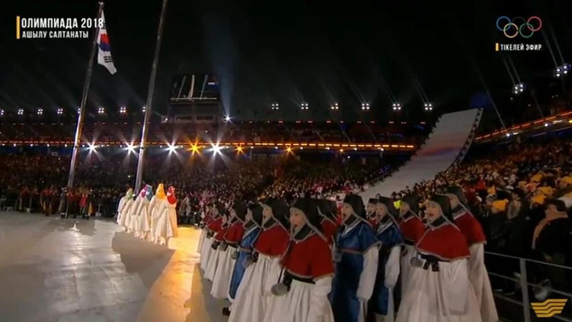 Қысқы Олимпиада ойындарының ашылу салтанаты (тікелей эфир)