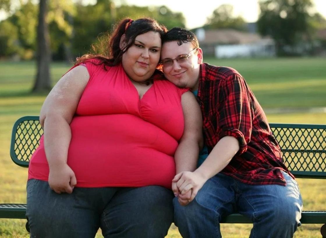 Самая толстая женщина в мире похудела, чтобы родить ребенка