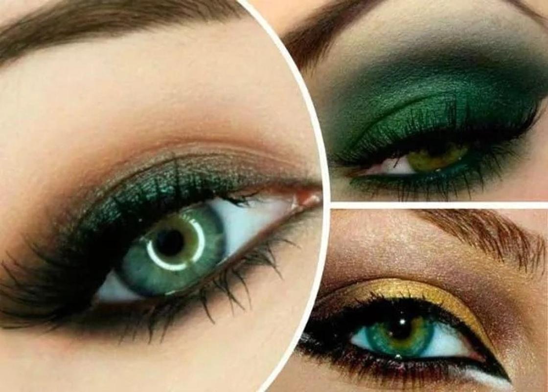 Для зеленых глаз