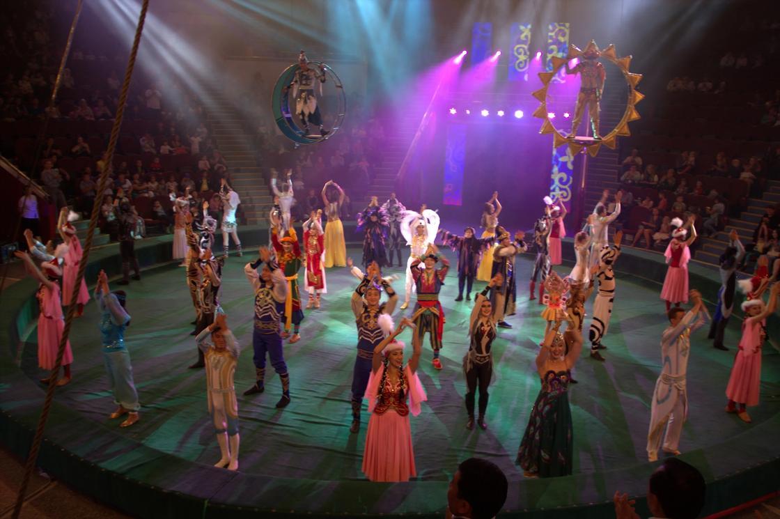 К 20-летию города Астана в Столичном цирке впервые пройдут гастроли легендарного коллектива Казахского государственного цирка