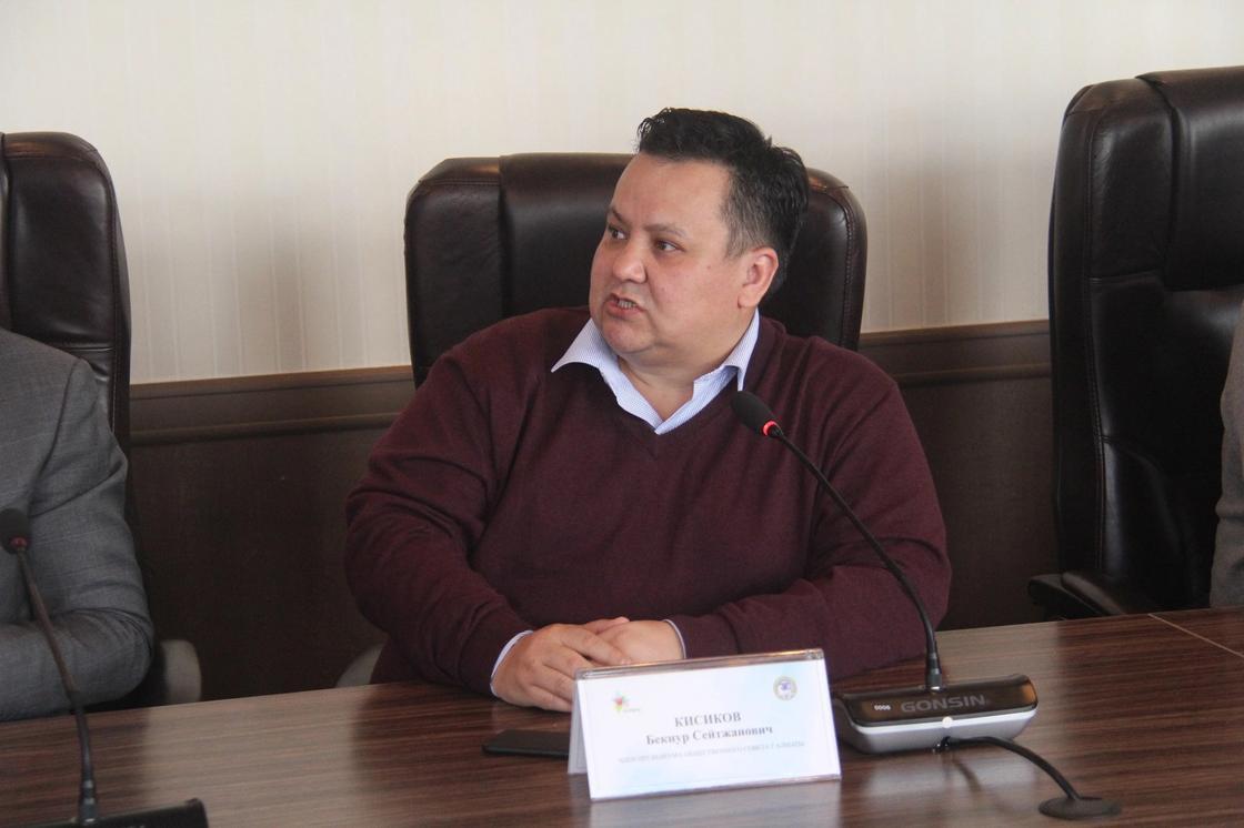 Член Общественного совета Бекнур Кисиков