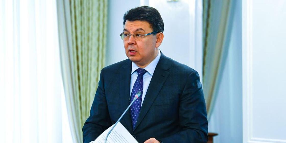 Қанат Бозымбаев. Фото: primeminister.kz