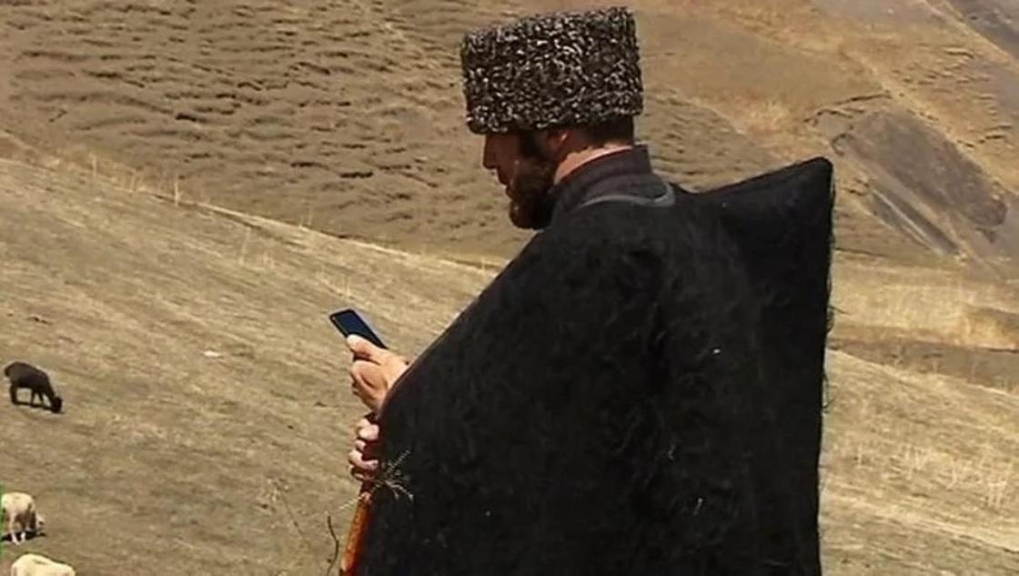 Дагестанский пастух стал звездой Instagram