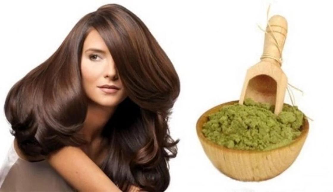 Маска для волос против выпадения из хны