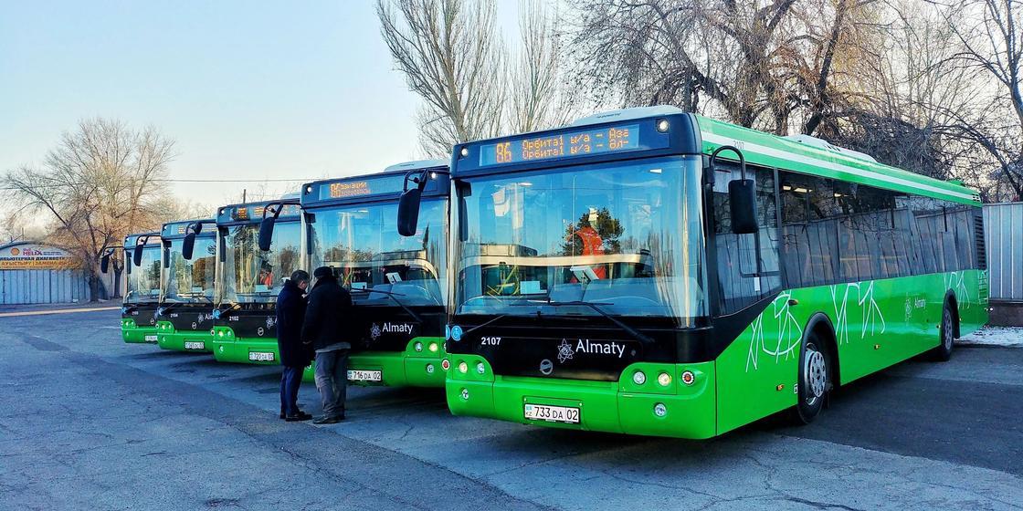Водители автобусов саботируют акцию «проезд по 1 тенге» в Алматы