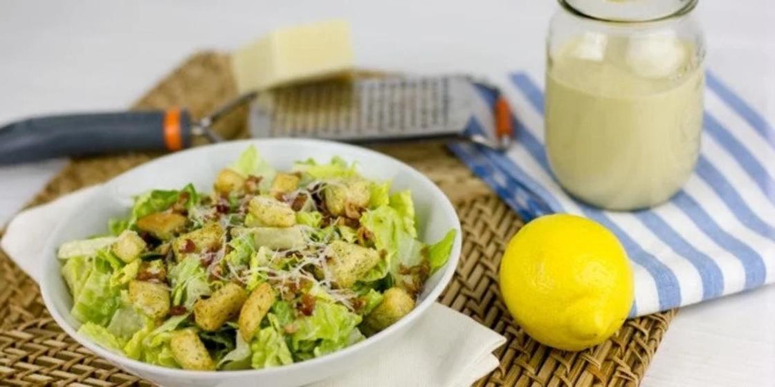 Вкусный соус для «Цезаря»: рецепт