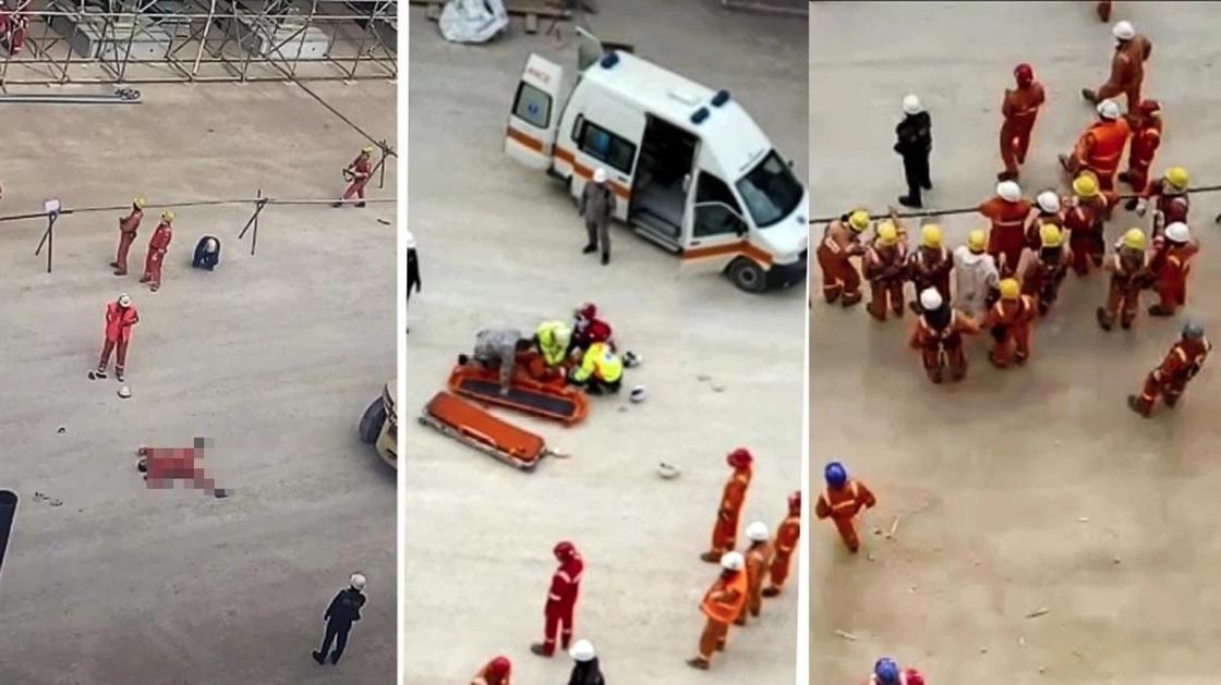 На нефтяном месторождении ТенгизШевроил разбились два сотрудника (видео)