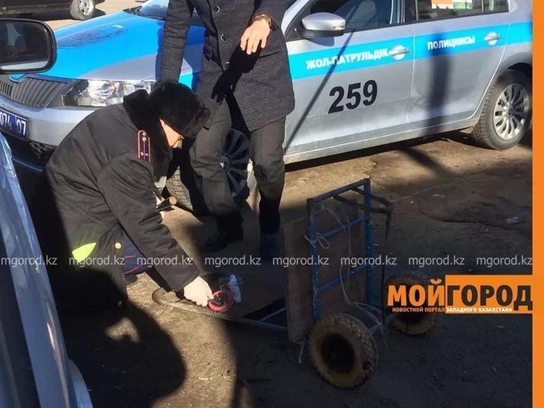 Труп мужчины обнаружили в железном ящике в Уральске (фото)