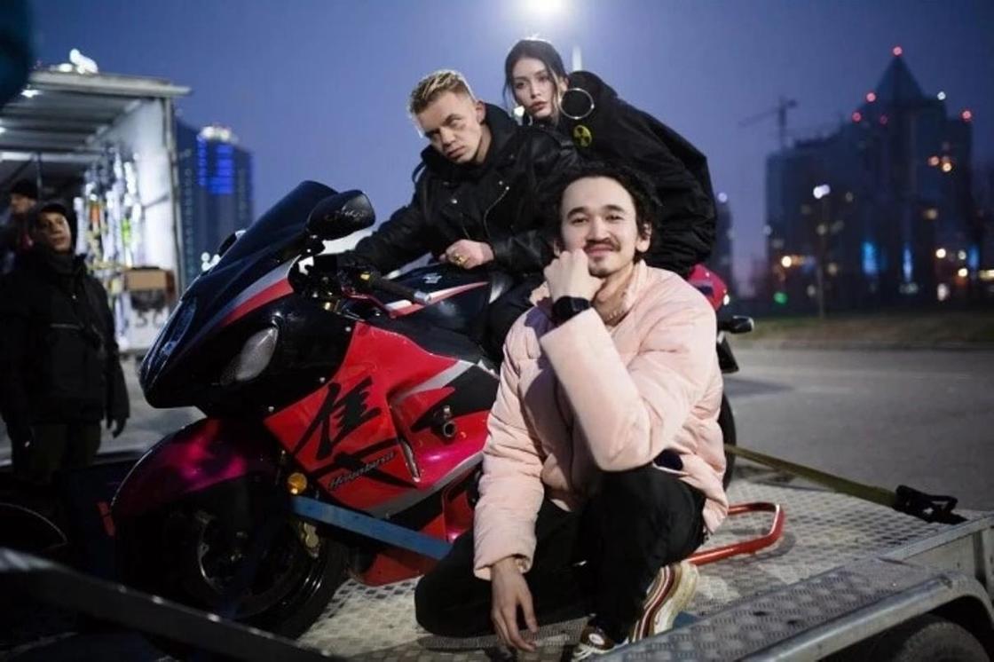 Элджей снял клип в Алматы