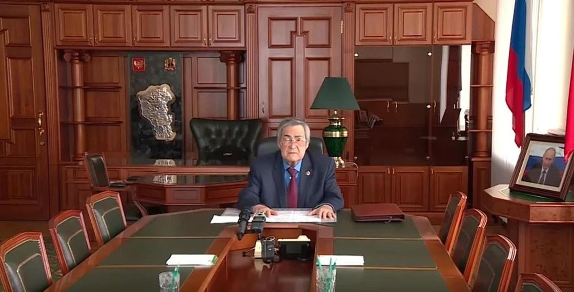 Аман Тулеев объяснил причины отставки