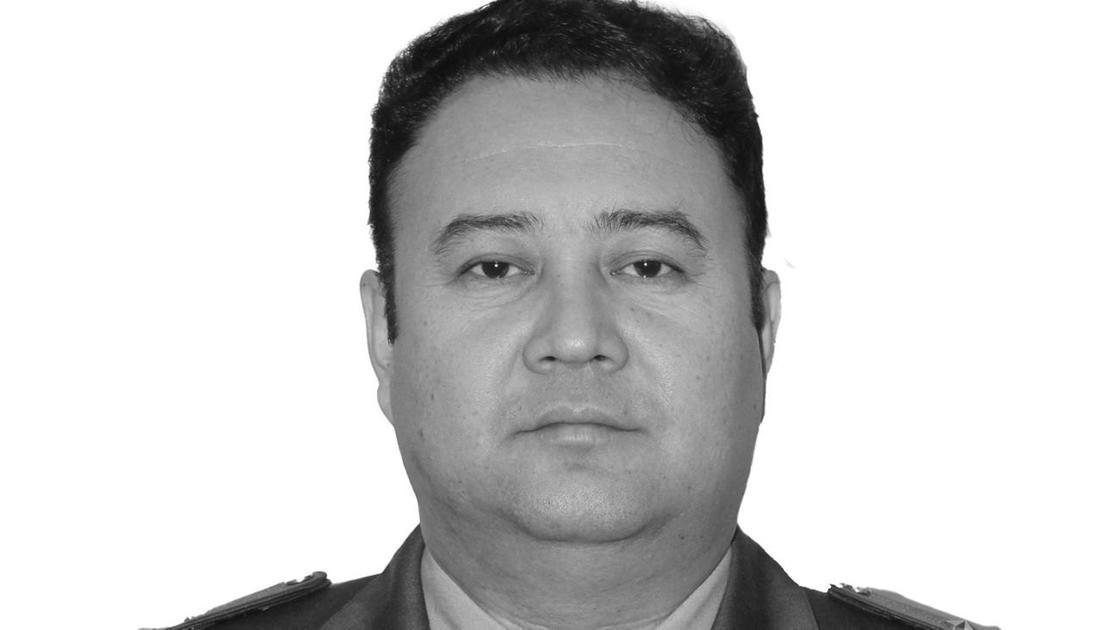 Глава Департамента пограничной службы по Костанайской области Арман Жумахметов