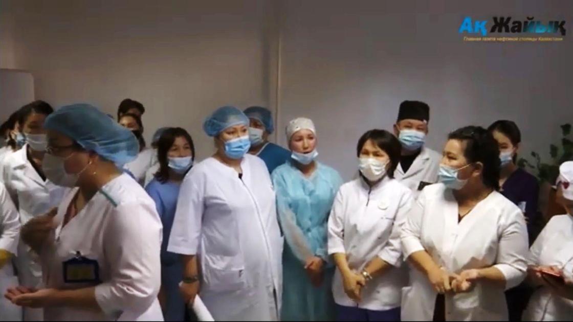 Медики собрались в поликлинике Атырау