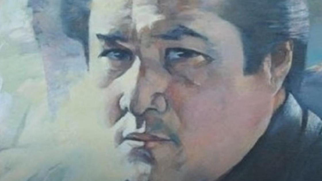 Портрет Мукагали Макатаева