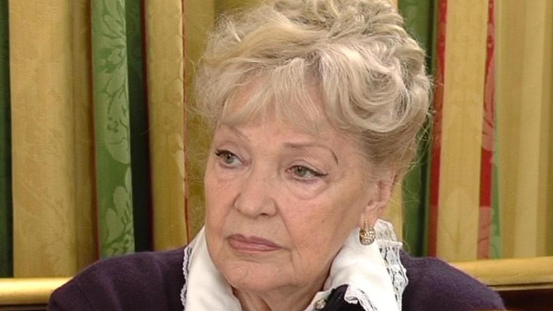 Ирина Скобцева на интервью
