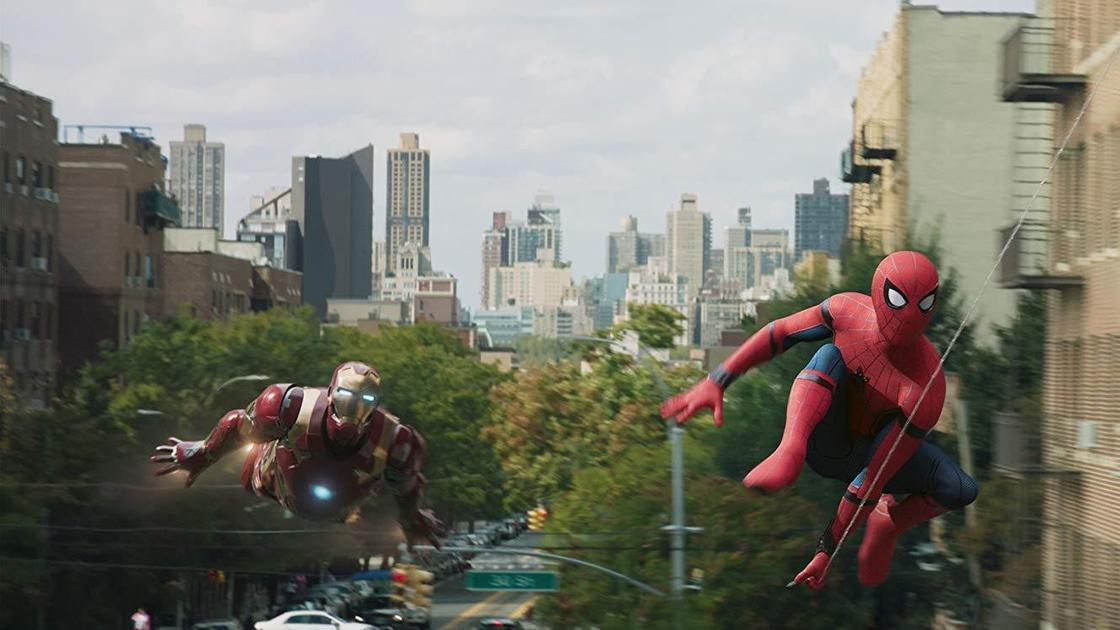 Человек-паук и Железный человек