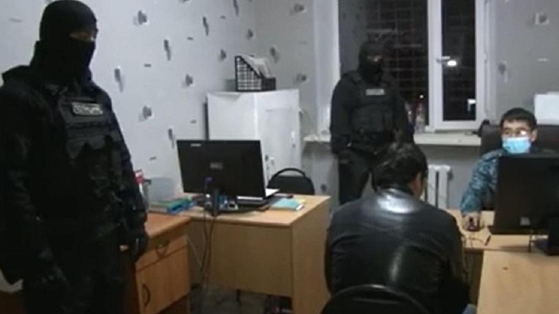 Задержание в Карагандинской области