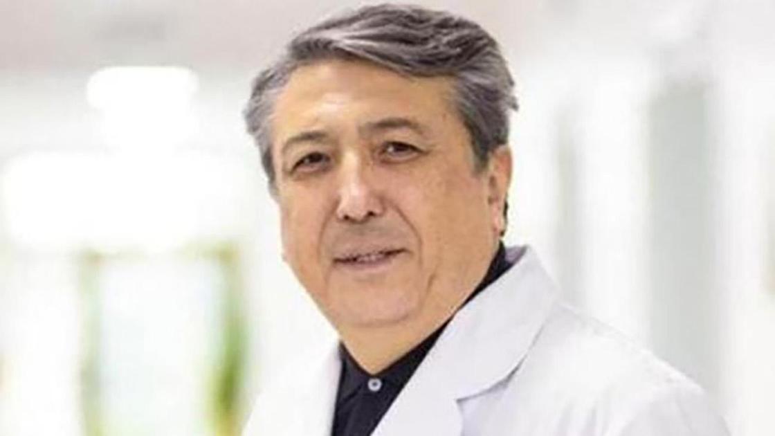 Казахстанский детский хирург Нурлан Ахпаров