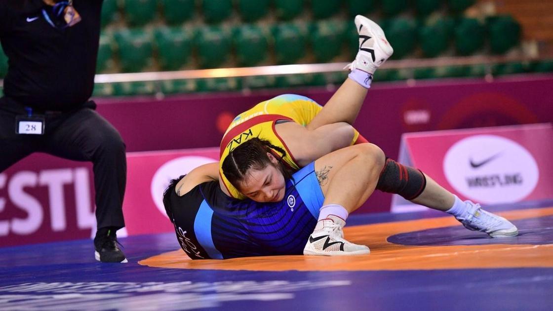 Спортсменка Жамиля Бакбергенова