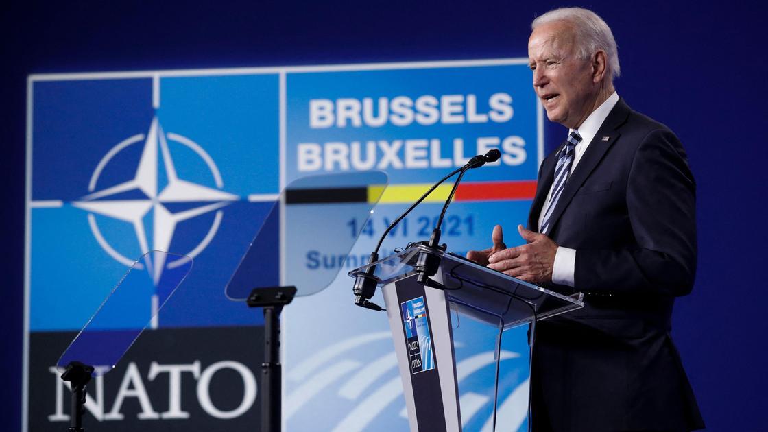 Джо Байден на встрече НАТО
