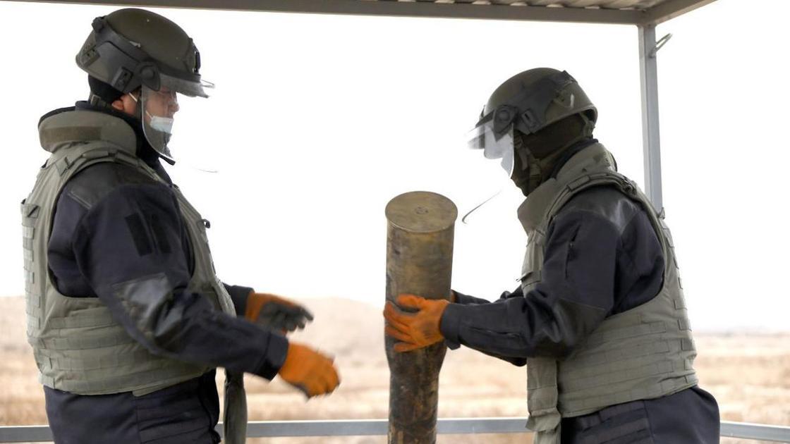 Уничтожение боеприпасов