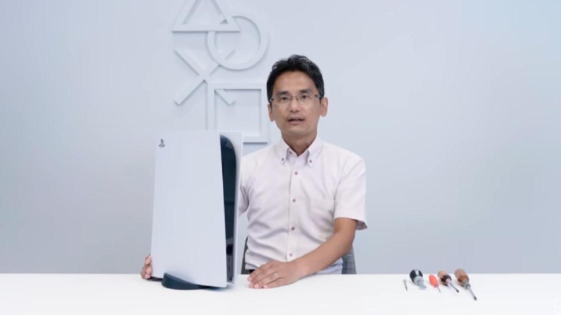 Технический директор Sony Ясухиро Отори и PS5