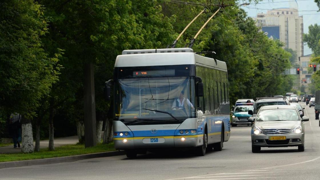 Уберут ли троллейбусы в Алматы