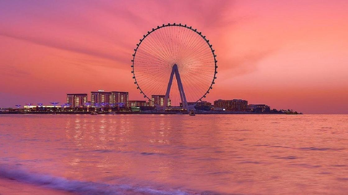 Колесо обозрения в Дубае
