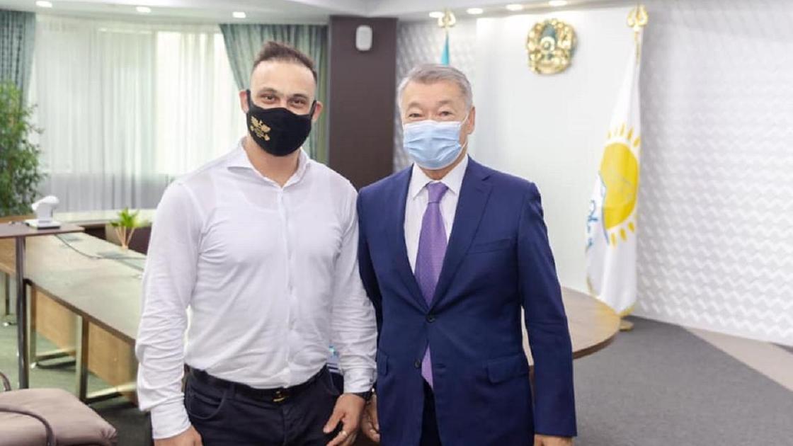 Илья Ильин и Даниал Ахметов