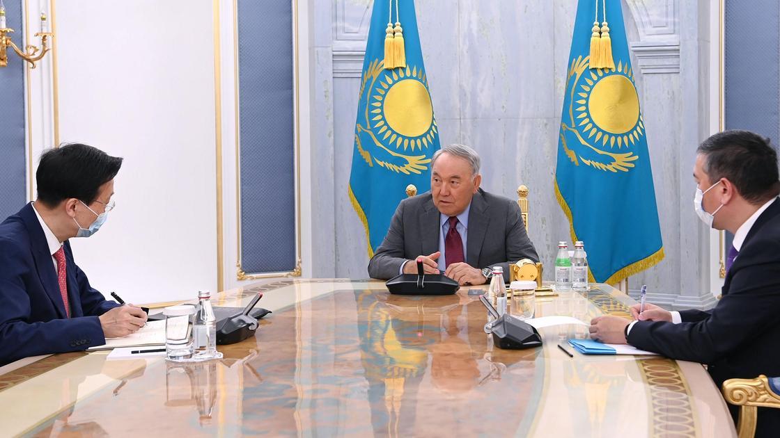 Назарбаев принял чрезвычайного и полномочного посла КНР