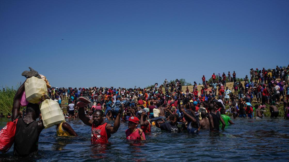 Мигранты в Техасе
