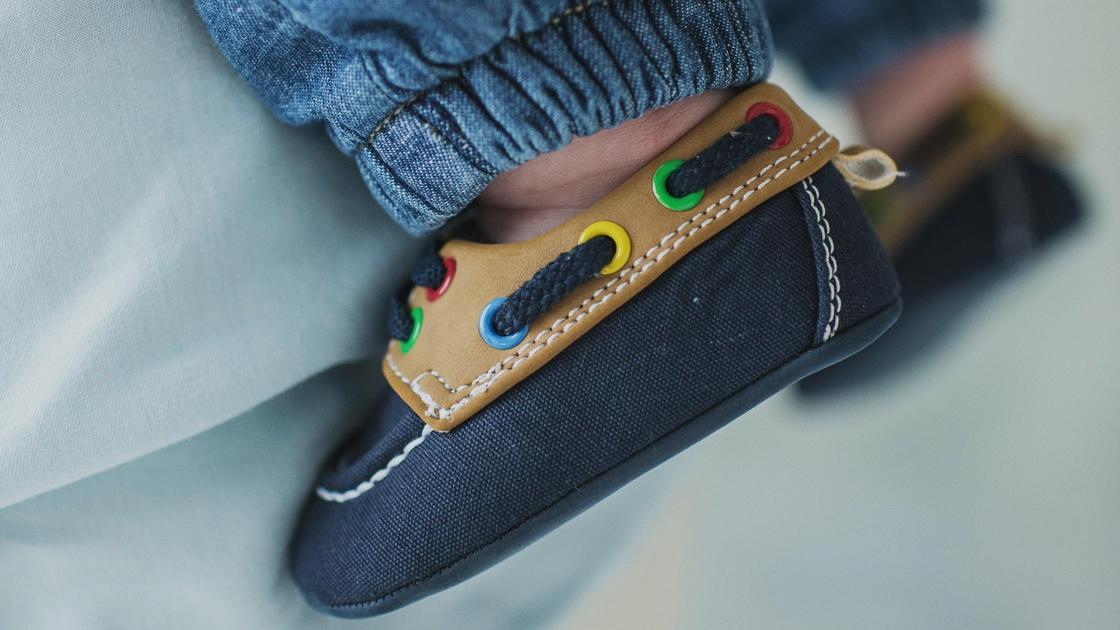 Детские ноги в обуви