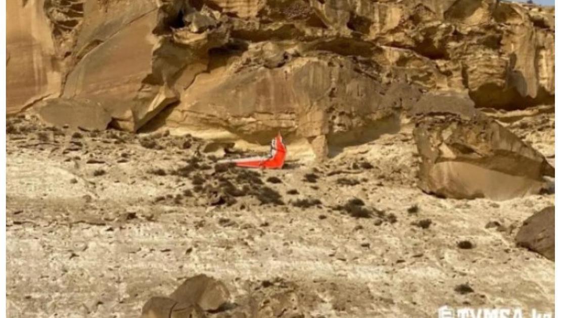 Маңғыстау облысында құлаған дельтаплан