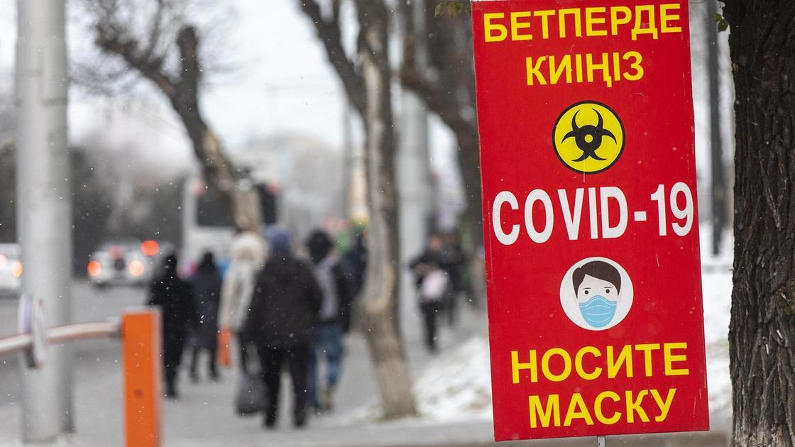 Плакат предупреждающий о КВИ