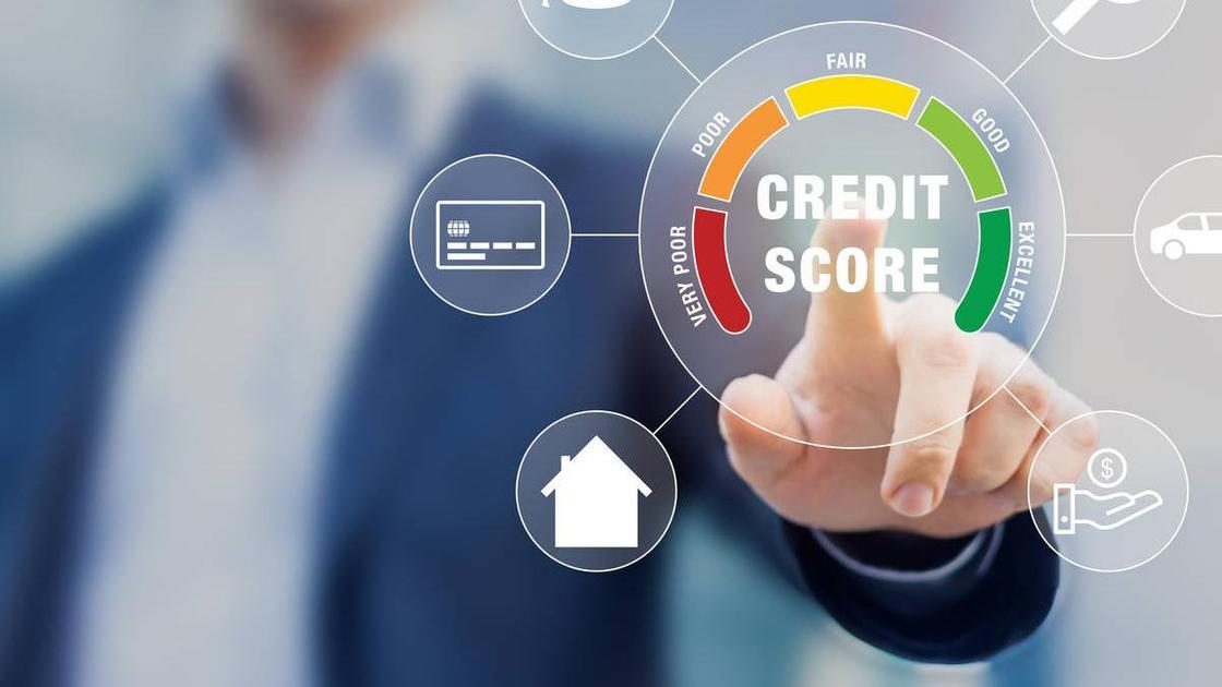 Схема, из чего складывается кредитный рейтинг