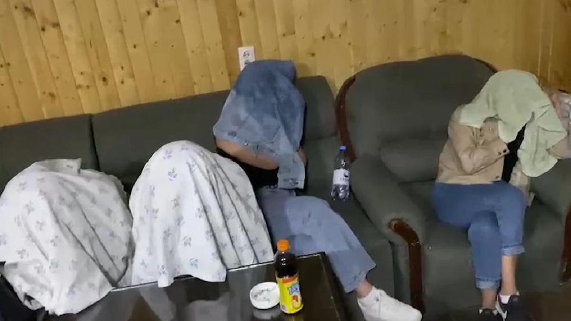 Проституток задержали в Жамбылской области