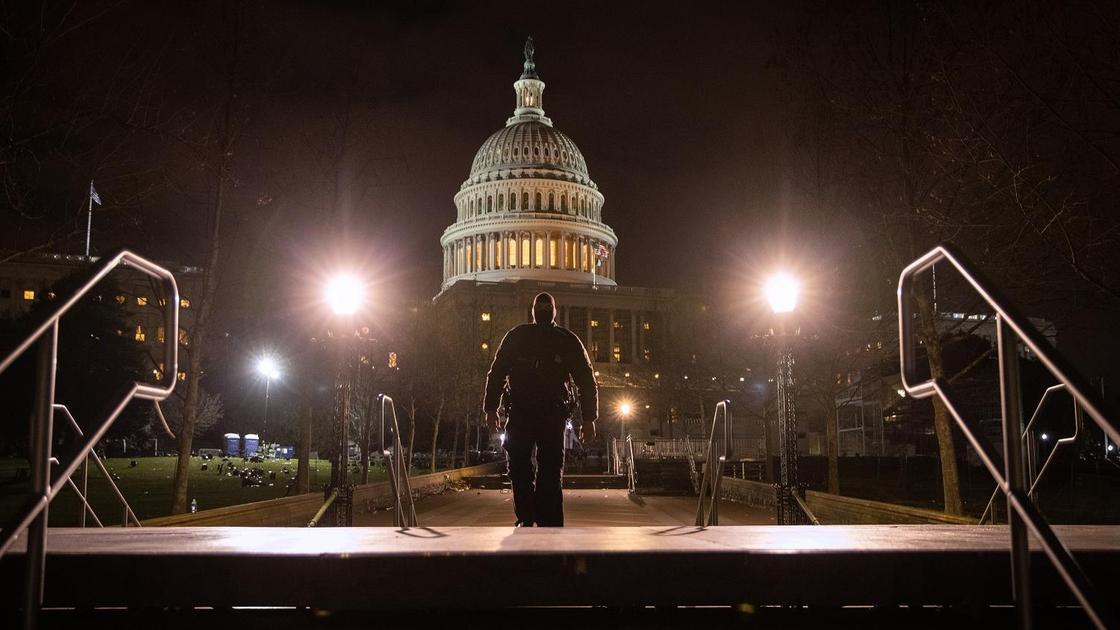 Беспорядки в Капитолии США