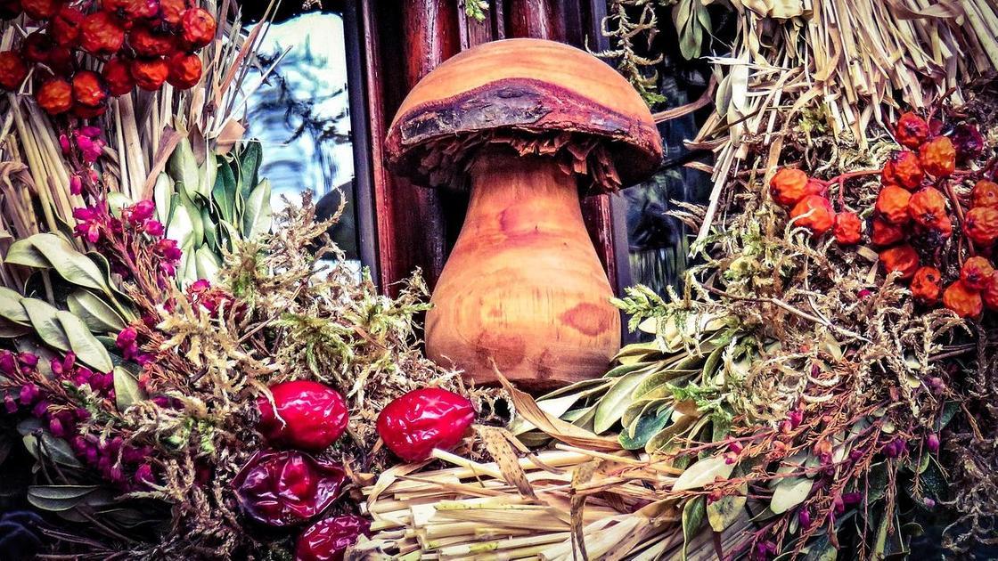Осенние поделки из природных материалов