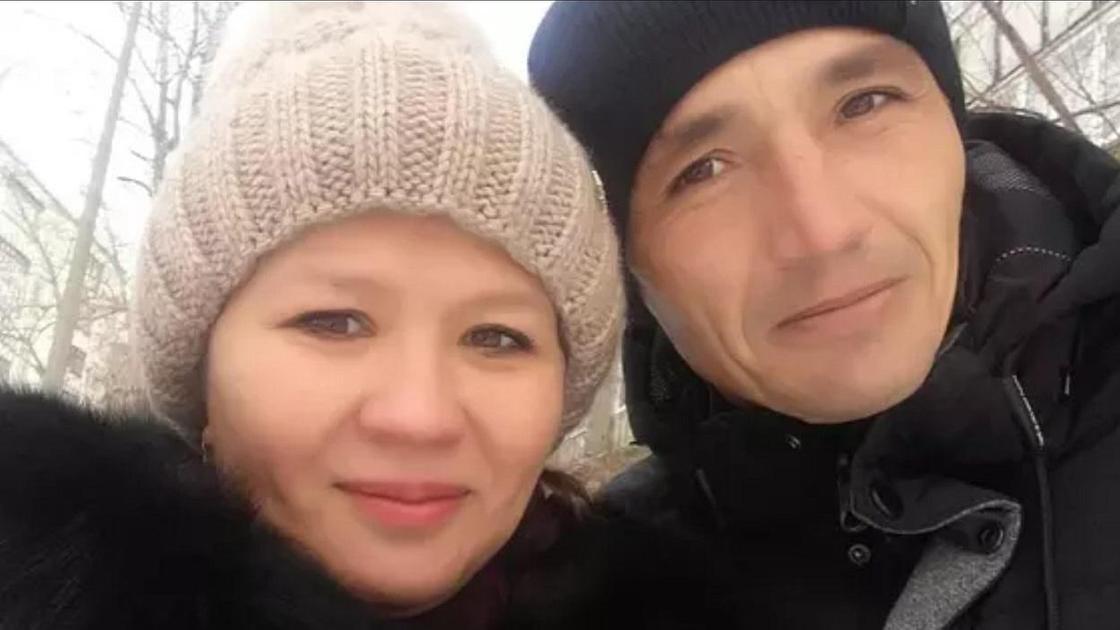 Гүлнәр Сәрсенова мен Александр Ершов