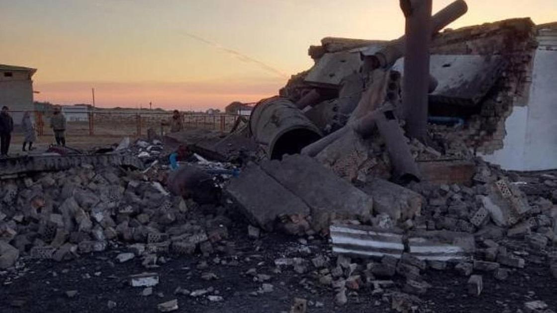 Взрыв в Кызылординской области