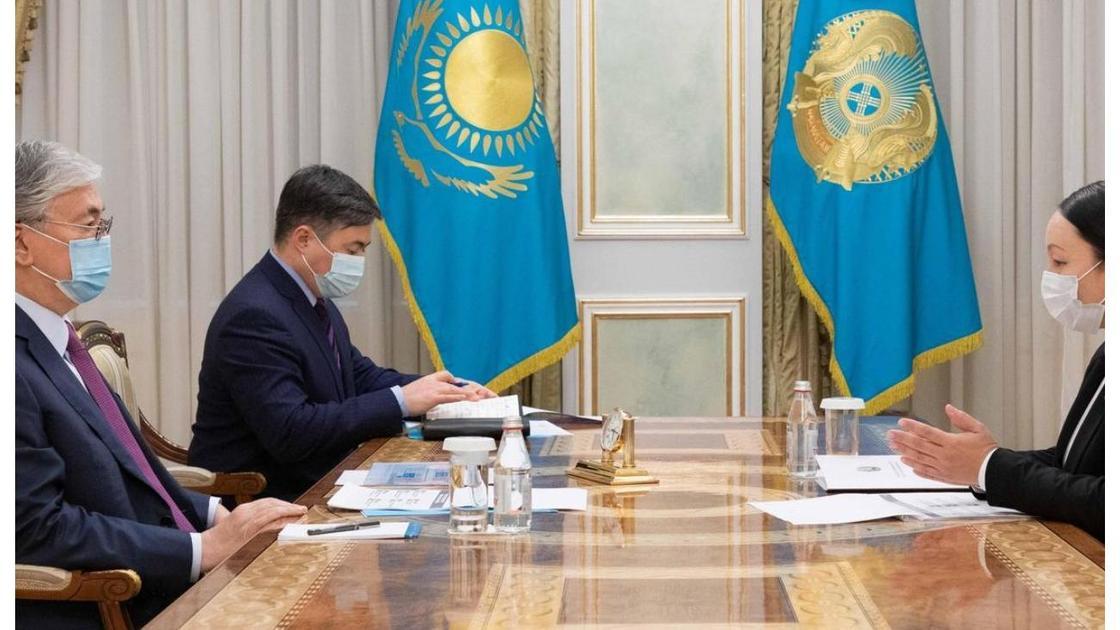 Тоқаев пен Күнсұлу Закарья