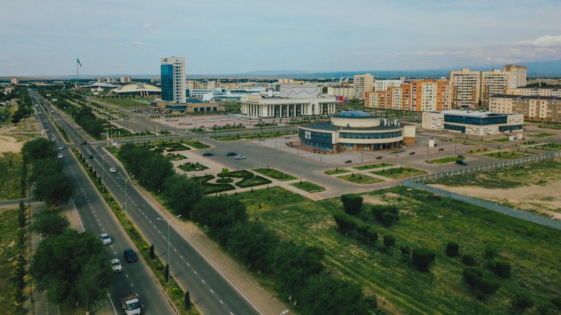 Панорама Талдыкоргана