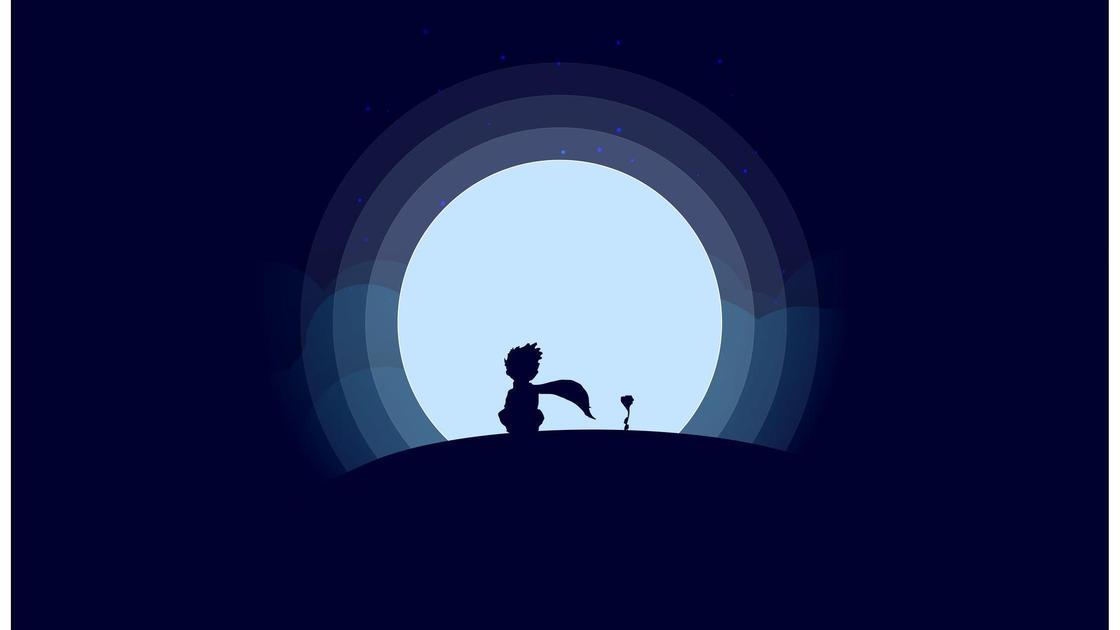 иллюстрация к «Маленькому принцу»
