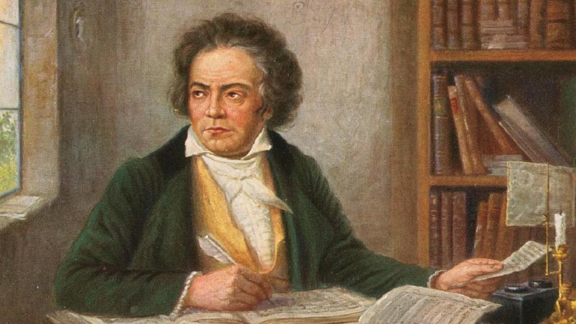 Портрет Бетховена