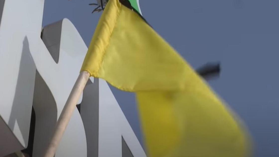 Флаги протеста в Петропавловске